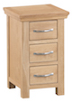 Winsford Oak Narrow Bedside Cabinet