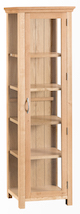 Winsford Oak Display Cabinet