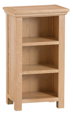 Winsford Oak Small Narrow Bookcase