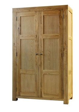 Mason Riley Oak Full Hanging Wardrobe