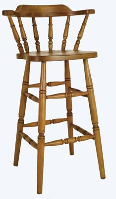 Medium Spindle Bar Stool