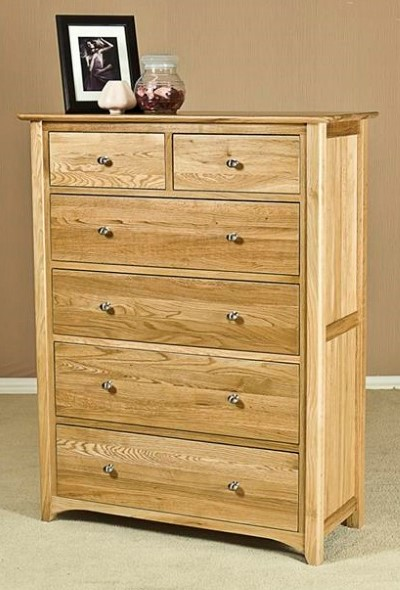 Toronto Oak Chest of Drawers